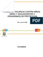 Formas Violencia y Organismos Proteccion 2