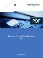 Cards and Payments Report Brochure 2014