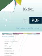 Kiuwan Report