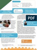 Buletin Informativ Pro Vobis Noiembrie 2008