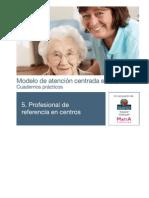 Cuaderno 5 - Profesional de Referencia en Los Centros