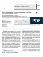 A new passive islanding detection method and its performanceevaluation for multi-DG systems