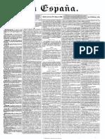 Periodico de España 24 de Mayo 1865
