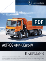 Catalogo mercedes benz actros 4144