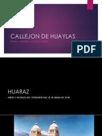 Callejon de Huaylas - Ciudades