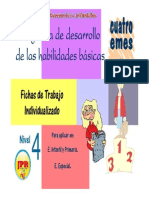 Cuaderno de ejercicios Habilidades Basicas.no. 4
