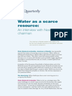 Water as a Scarce Resoure - Mckinsey Quarterly