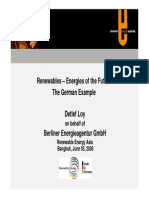 Renewables - Energies of the Future, The German Example (2008)