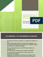 Antecedentes de La Energia Renovables en El Salvador