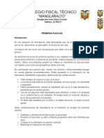 MODULO DE PRIMEROS AUXILIOS