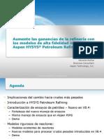 Aspen HYSYS Petroleum Refining Spanish Presentation - FINAL