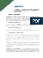CEDRO. TDR Sistematización y Modelo Programa Inclusión Digital