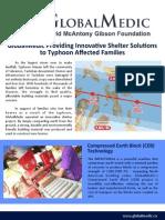 GlobalMedic - CEB Housing Haiyan