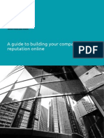 A Guide To Building Your Company Reputation Online