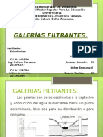 Galerias Filtrantes.