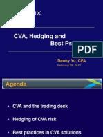 CVA and Hedging