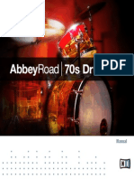 Abbey Road 70s Drummer Manual English