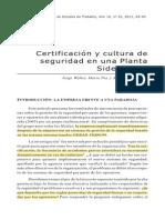 Planta siderurgía