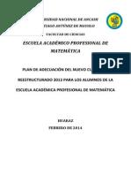 Plande Adecuacion_Nueva Curricula