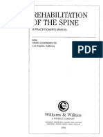 [Craig Liebenson] Rehabilitation of the Spine