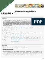 Máster universitario en Ingeniería Informática (FIB)
