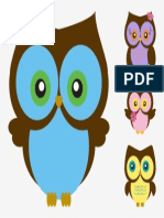 Vector Cartoon Vector Owls