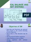 Mass Balance and Unit Systems