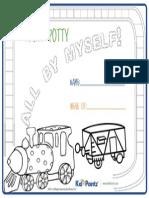 Toilet Training Train Certificate