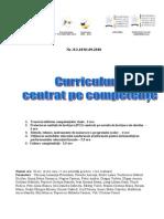 Curriculum centrat pe competente
