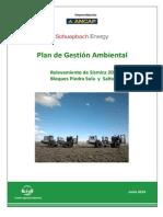 Plan de Gestion Ambiental de ANCAP y Schuepbach Energy