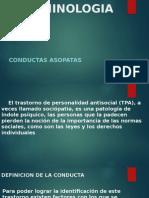 CONDUCTAS ASOPATAS