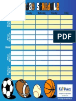 Charts Schedule 005