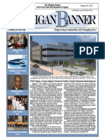 The Michigan Banner January 16, 2015 Edition
