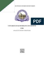 Contabilitate Si Informatica de Gestiune Analiza Financiara
