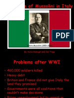 the rise of mussolini in italy 3