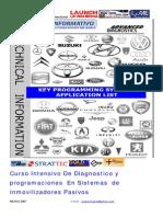 Curso Intensivo de Diagnostico y Programaciones en Sistemas Inmovilizadores Pasivos07