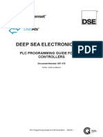 Plc Programming Guide for Dse Controllers