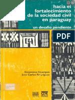 HACIA EL FORTALECIMIENTO DE LA SOCIEDAD CIVIL EN PARAGUAY - GENOVEVA OCAMPOS - PORTALGUARANI