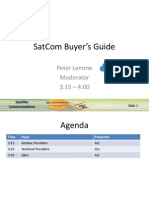 SatCom Buyers Guide