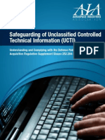 DFARS Brochure Final Safeguarding UCTI1
