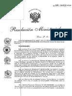 R.M. N°480-2008-MINSA LISTADO DE ENFERMEDADES PROFESIONALES