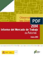 Informe Mercado de Trabajo Asturias 2014 - Datos 2013 (SEPE)
