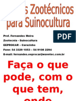 SUINOCULTURA 2 - Indices Zootécnicos Ideais Para Suinocultura