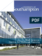 Web Science Research Booklet 2014/15