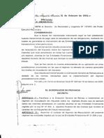 D-301-3-ME - Régimen de Recaudación Bancaria