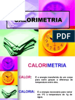 02-Física PPT - Calorimetria