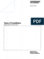 Types of Crystallizers