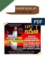 Menjawab Mualaf Yahya Waloni