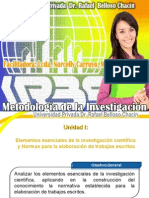 Metodologia de la Investigacion Unidad I.ppt