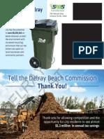 Delray Trash Contract